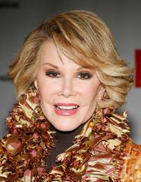 Joan Rivers at the 10th anniversary celebration of Rosies For All Kids Foundation.
