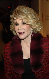 Joan Rivers at the opening of the JCPenney Experience.
