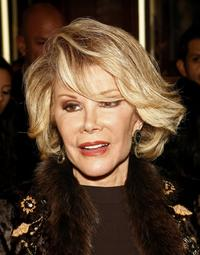 Joan Rivers at the opening night return to Broadway of