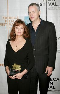 Tim Robbins and Susan Sarandon at the 2007 Tribeca Film Festival premiere of