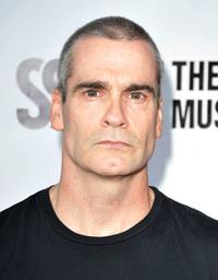 Henry Rollins at the 2nd Annual Sunset Strip Music Festival's Tribute to Ozzy Osbourne.