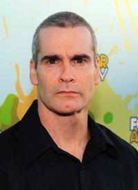 Henry Rollins at the 2009 FOX All-Star party.