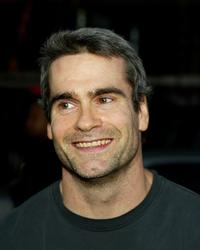 Henry Rollins at the Los Angeles premiere of