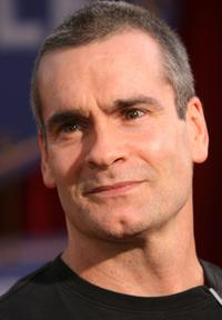 Henry Rollins at the premiere of