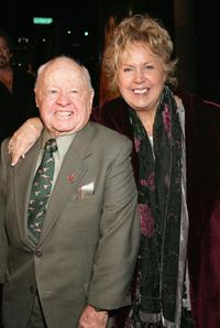 Mickey Rooney and Jan Rooney at the Premiere of