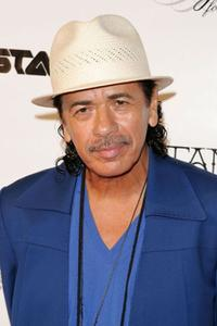 Carlos Santana at the Intimate Evening with Santana presented by Conde Nast Media Group.