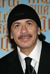 Carlos Santana at the 2005 World Music Awards.