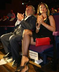 Maximilian Schell and Elisabeth Michitsch at the Bernhard Wicki Award