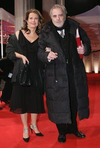 Maximilian Schell and his wife Elisabeth Michitsch at the Bavarian Film Award.
