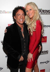 Neal Schon and Michaele Salahi at the 2011 Billboard Touring Awards in New York.