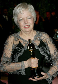 Thelma Schoonmaker at the 2007 Vanity Fair Oscar Party in California.