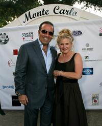 Nancy Cartwright and Sammy Farha at the Monte Carlo Night benefiting Devonshire PALS at a private residence.