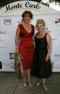 Nancy Cartwright and Mary Jones at the Monte Carlo Night benefiting Devonshire PALS at a private residence.