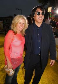 Nancy Cartwright and Richard Sakai at the Los Angeles premiere of