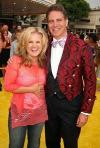 Nancy Cartwright and David Silverman at the Los Angeles premiere of