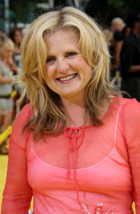 Nancy Cartwright (voice of Lisa) at the L.A. premiere of
