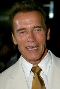 Arnold Schwarzenegger at the Los Angeles screening of