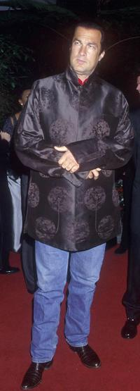 Steven Seagal at the Arista Records Pre-Grammy Celebration.