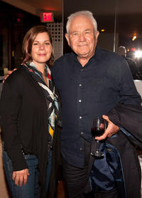 Marcia Gay Harden and David Seidler at the screening of