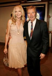 Joely Richardson and Robert Shaye at the West Coast premiere of