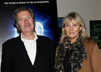 Robert Shaye and his wife Eva at the premiere of