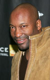 John Singleton at the premiere
