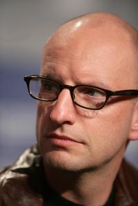 Steven Soderbergh at the press conference for the movie