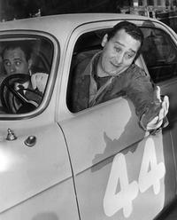 Undated picture of famous Italian actor Alberto Sordi.