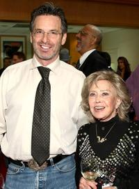 Robert Carradine and June Foray at the AMPAS' centenial salute celebration of Joseph L. Mankiewicz.