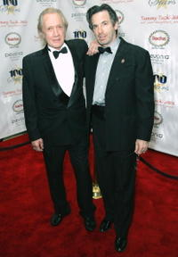 David Carradine and Robert Carradine at the 18th Annual Night Of 100 Stars Gala.