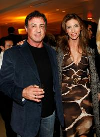 Sylvester Stallone and Jennifer Flavin Stallone at the Avi Lerner's Birthday Bash.
