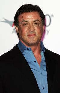 Sylvester Stallone at the AFI's 40th Anniversary celebration.