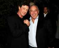 Sylvester Stallone and Phillip Green at the UK premiere of