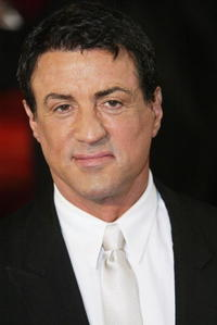 Sylvester Stallone at the Goldene Kamera Film Awards in Berlin.