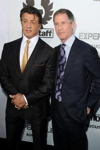 Sylvester Stallone and Jon Feltheimer at the California premiere of