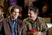 Jim Carrey as Carl and John Michael Higgins as Nick in