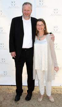 Daniel Stern and Laurie Stern at the Malibu Foundation's A Night of a Million Laughs benefit.