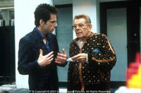 Ben Stiller as Derek and Jerry Stiller as Maury in Paramount's Zoolander.