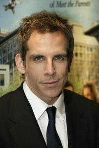 "Ben Stiller at the premiere of ""Along Came Polly"" in London."