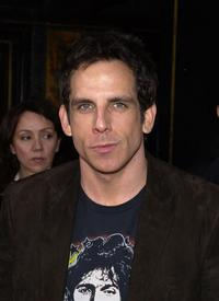 Ben Stiller at the premiere of