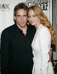 Ben Stiller and Christine Taylor at the premiere of