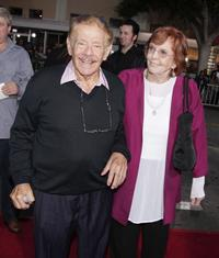 Jerry Stiller and Anne Meara at the premiere of