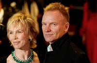 Sting and Trudie Styler at the British Academy for Film and Television Arts Awards (BAFTA) ceremony.
