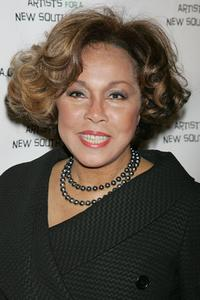 Diahann Carroll at the Archbishop Desmond Tutu's 75 birthday gala fundraiser