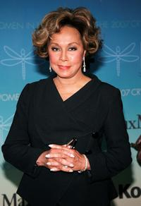 Diahann Carroll at the Women In Film 2007 Crystal and Lucy Awards.