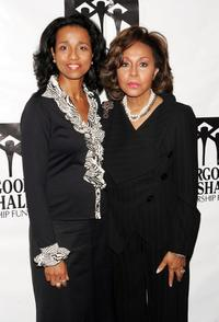 Diahann Carroll and her daughter Suzanne Kay at the Thurgood Marshall Scholarship Funds annual dinner at the Sheraton New York Hotel.