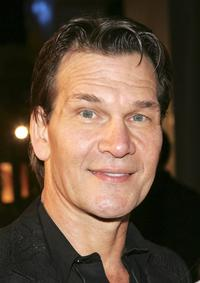 Patrick Swayze at the premiere of