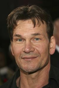 Patrick Swayzie at the world premiere of