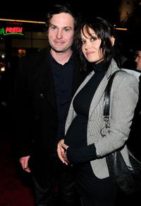 Henry Thomas and Marie Zielcke at the California premiere of