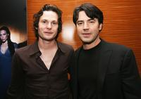 Henry Thomas and Ron Livingston at the after party of the screening of